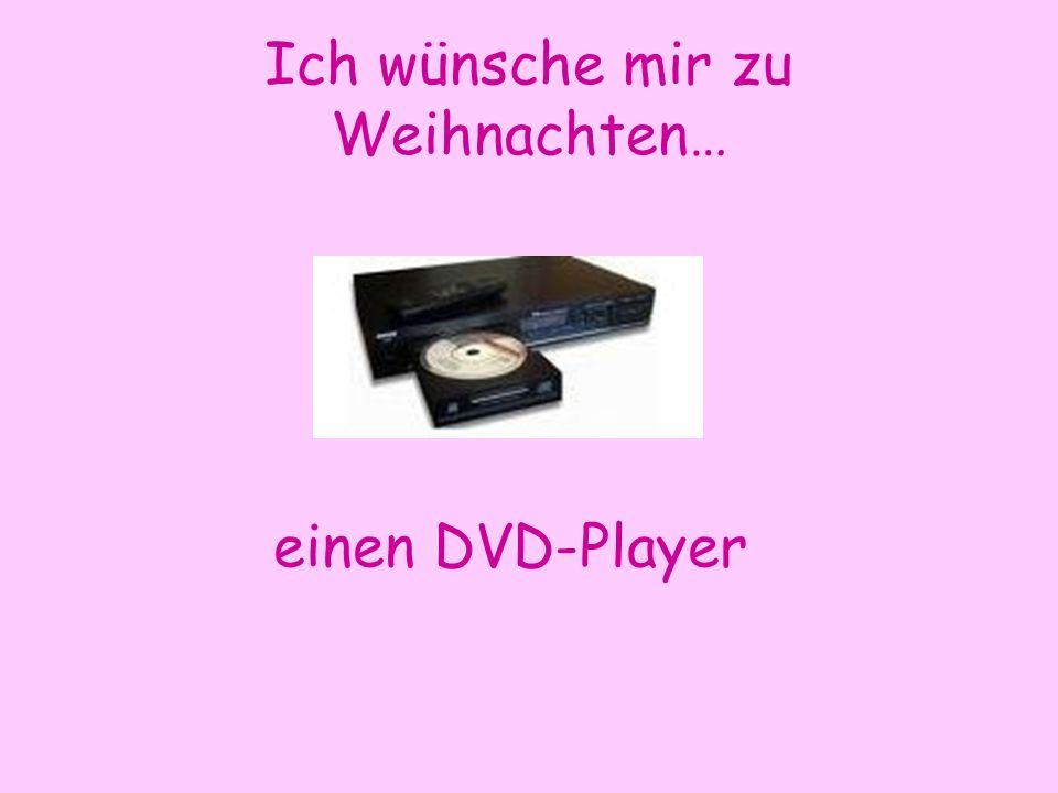 Ich wünsche mir zu Weihnachten… einen DVD-Player