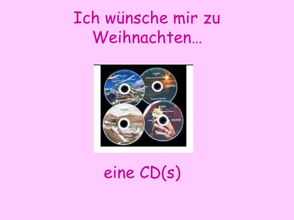 Ich wünsche mir zu Weihnachten… eine CD(s)