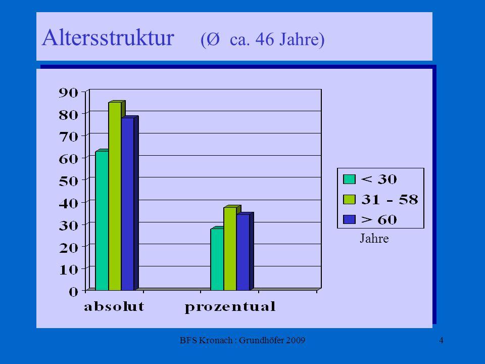 BFS Kronach : Grundhöfer 20095 Was verstehen die Menschen in Kronach unter Gesundheit.