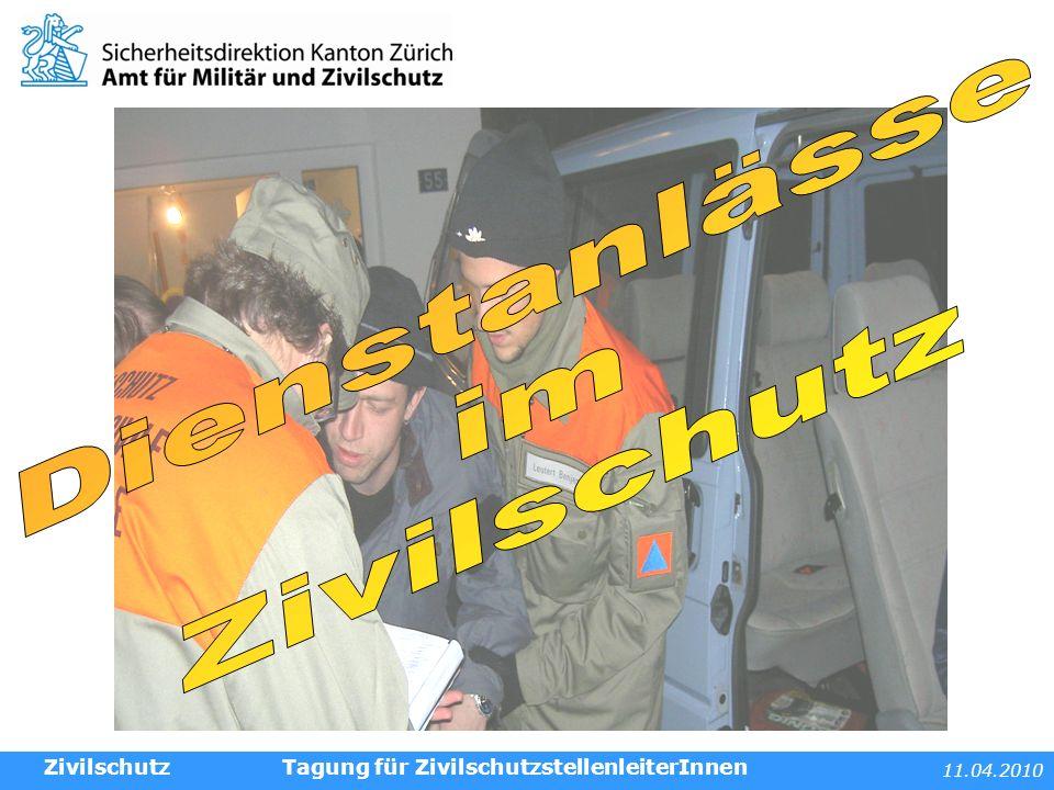 11.04.2010 Tagung für ZivilschutzstellenleiterInnenZivilschutz