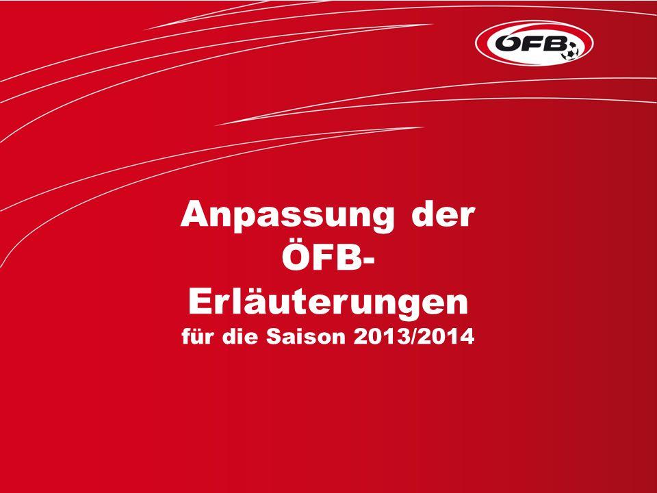 - Erläuterungen zu den Spielregeln: Änderungen und Anpassungen aufgrund aktueller Auslegungen (FIFA, UEFA): –Trivia-Regeltest –RAP-Seminare (Referee-Assistent-Programm) –UEFA-Core-Programm (für junge SR in höchster Spielklasse) –Tagung der Deutschsprachigen Regelexperten (findet jährlich statt, Anfragen an FIFA) Überarbeitung: Ständiger Arbeitsausschuss FIFA-Spielregeln