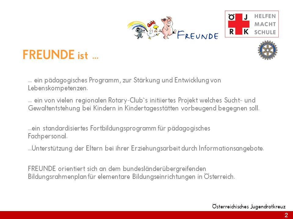 2 FREUNDE ist...... ein pädagogisches Programm, zur Stärkung und Entwicklung von Lebenskompetenzen.... ein von vielen regionalen Rotary-Club`s initiie