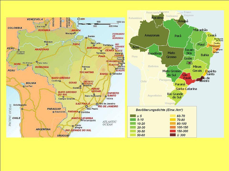 Die regionalen Disparitäten wurden schon oftmals in der Kolonialzeit vorgeprägt.