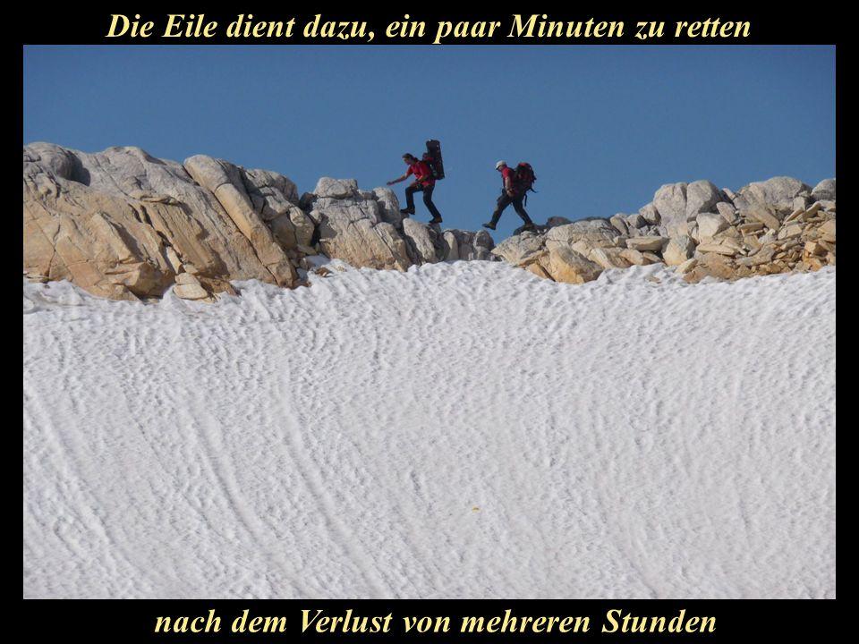 Schritte am Berg bringen dich näher zu dir selbst.