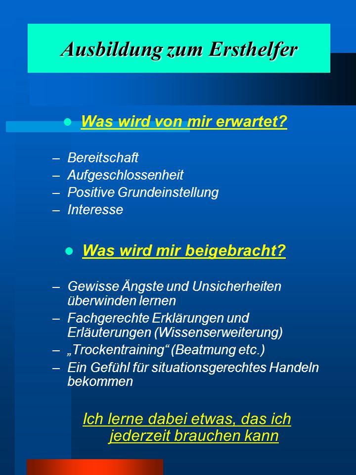 RETTUNGSKETTE www.erstehilfe.cc