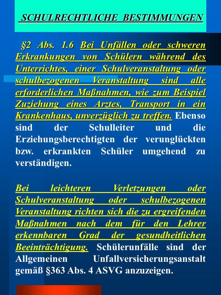 Inhalt der Aufsichtspflicht 5 Aus §51 Abs.