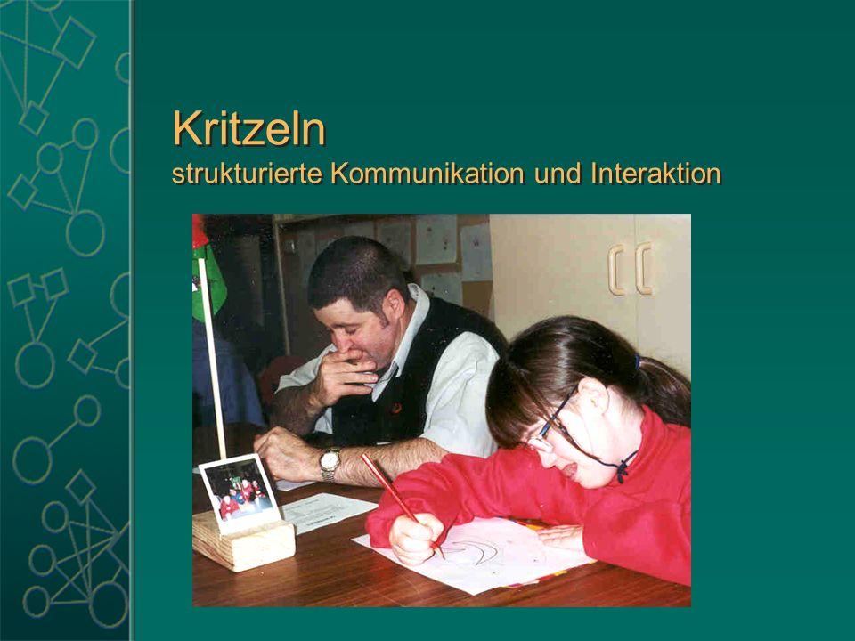 Kritzeln strukturierte Kommunikation und Interaktion