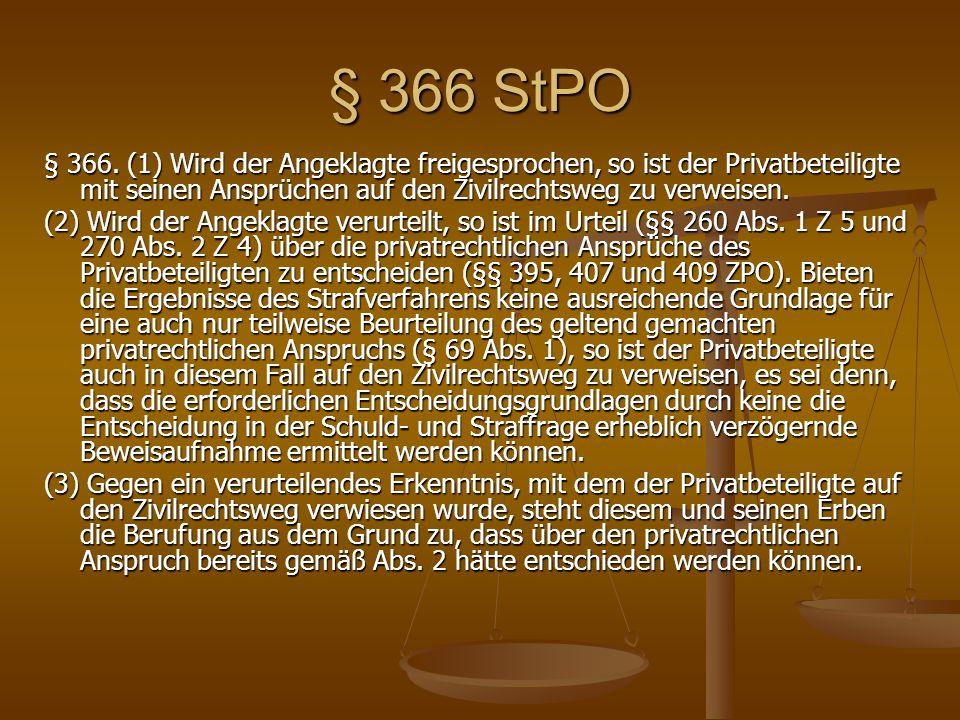 § 366 StPO § 366.
