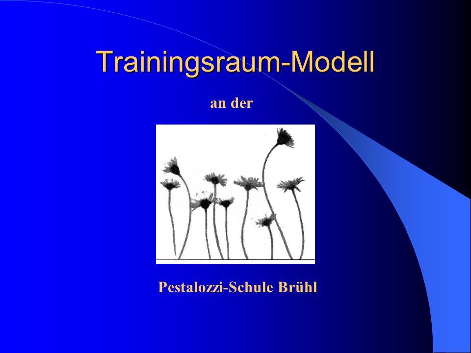 Trainingsraum-Modell an der Pestalozzi-Schule Brühl