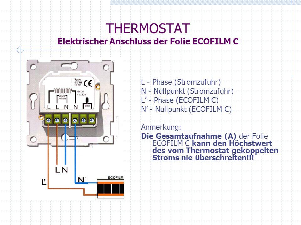 ECOFILM C Modernes und effektives System der Strahlungsdeckenheizung.