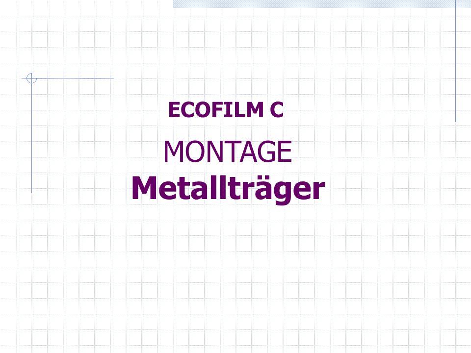 Bauschema der Folie Ecofilm C Vor dem Montagebeginn sollte der Benutzer einen einfachen Verlegungsplan der Folie ECOFILM C im jeweiligen Raum vorbereiten, aus dem sich die genaue Position der Heizfolie und der Zuführungsleiter auf der Decke ergibt.