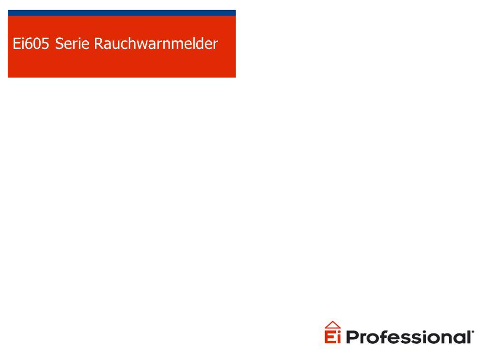 Ei605 Serie Optischer Rauchmelder Lauter Alarm 85dBa in 3 Meter Entfernung Testknopf – Testet die komplette Elektronik und den Alarm Stummschaltung Batteriewechselanzeige Insektengitter Montageplatte mit Eingriffsicherung VdS zugelassen nach DIN EN14604 und zur Verwendung nach DIN 14676 10 Jahre Lebensdauer 5 Jahre Garantie