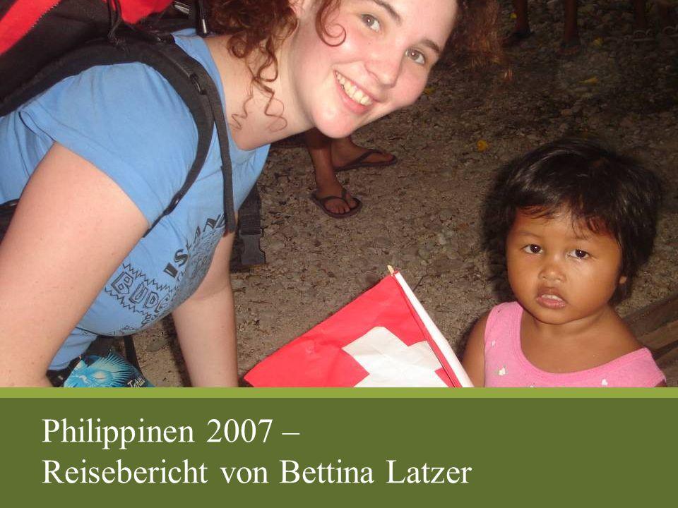 Philippinen 2007 – Reisebericht von Bettina Latzer