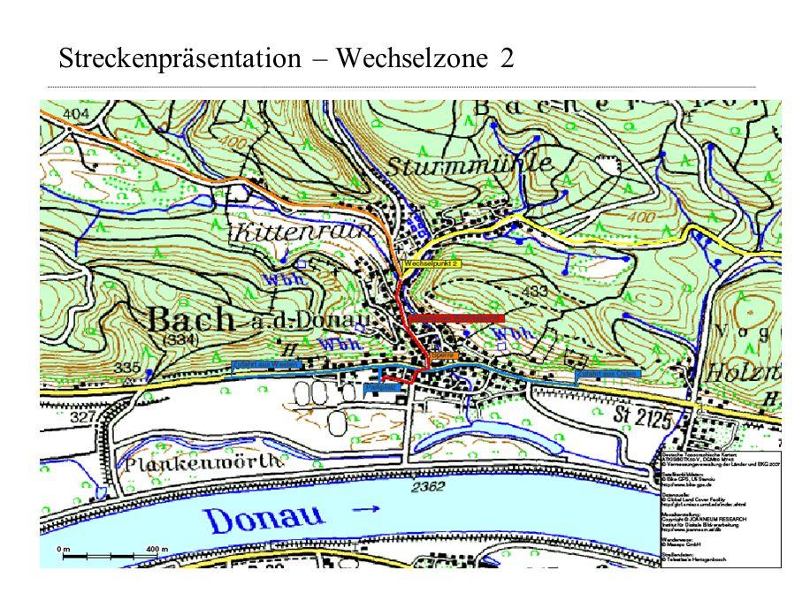 Streckenpräsentation – Wechselzone 2