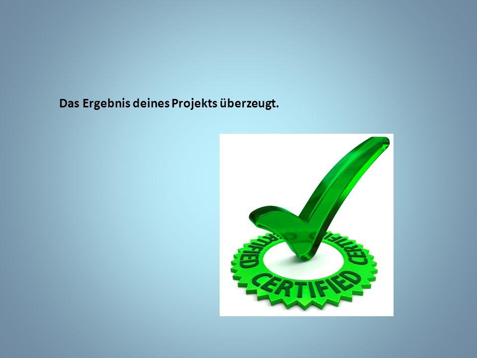 Dein Projekt enthält im Anhang der Dokumentation wichtige Formulare (Grobkonzept, Projektantrag, Planung, etc.)