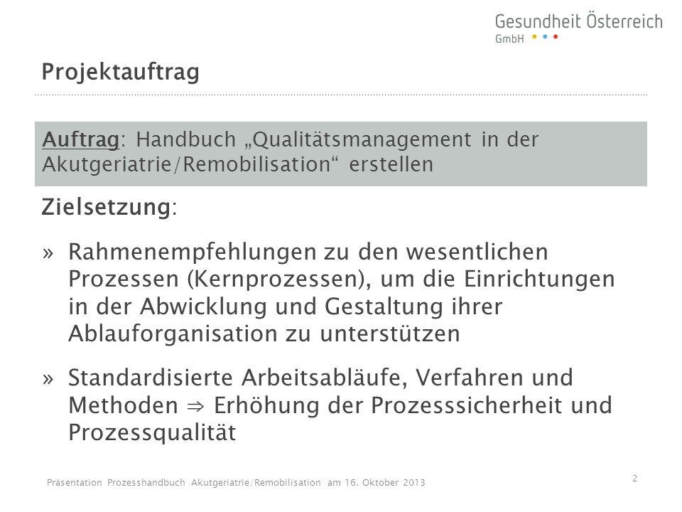Projektkonstellation Mitglieder Steuerungsgruppe Prim.