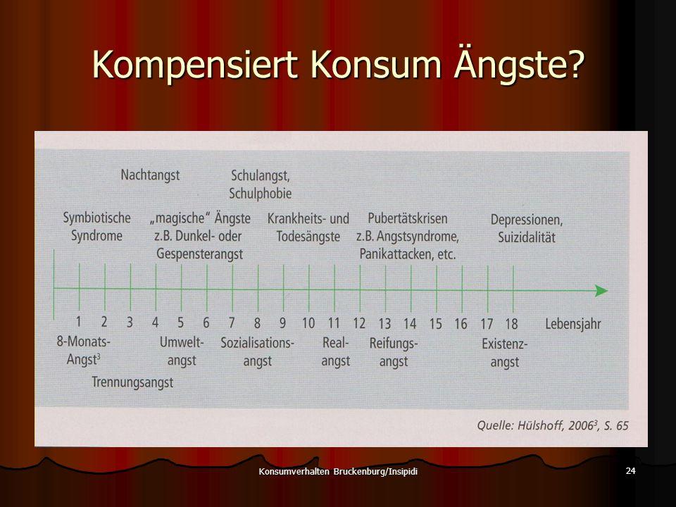Kompensiert Konsum Ängste? Konsumverhalten Bruckenburg/Insipidi 24