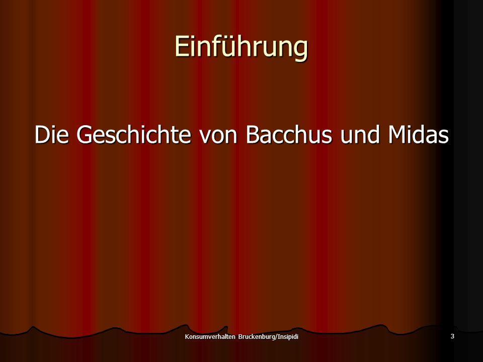 Konsumverhalten Bruckenburg/Insipidi 54 Alles tun für Erfolg macht vielleicht doch nicht glücklich, Aber glücklich sein ist die Basis für einen qualitativen Erfolg.