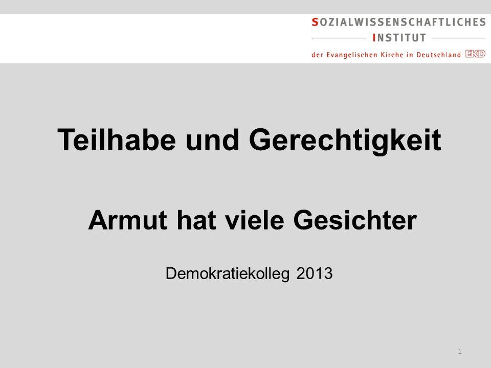 2 Gliederung Armut in Deutschland: Zahlen – Daten – Fakten Gründe für Armut: Entwicklungen des Arbeitsmarktes Politik gegen Armut: Vorschläge