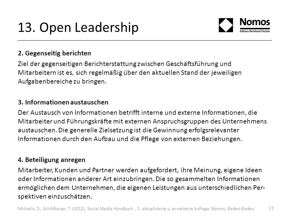 13. Open Leadership 2.