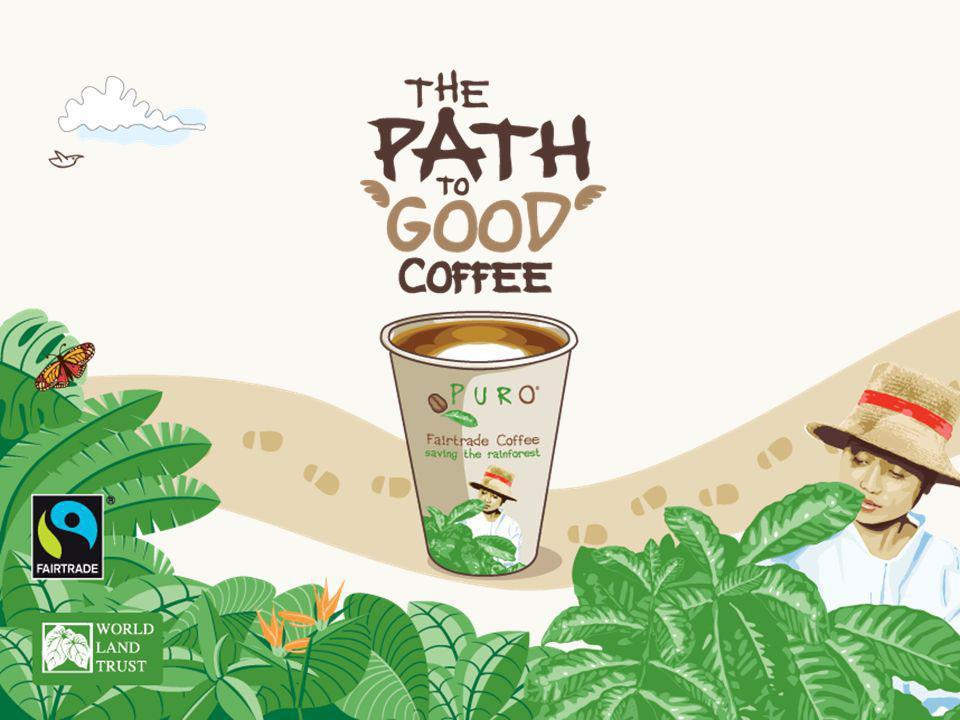 KAFFEE PURO NOBLE Voller Geschmack, medium geröstet mit Noten von Haselnuss Typ: Fairtrade & Shade Grown Origins: Guatemala, Peru, Honduras & Congo Arabica: 80% Robusta: 20%