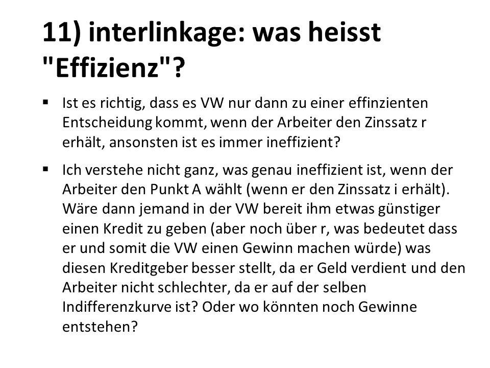 11) interlinkage: was heisst