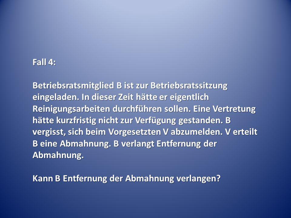 Fall 5: Der 7-köpfige Betriebsrat meldet sich zu einer einwöchigen Schulung Aktuelles Arbeitsrecht am BAG des Schulungsanbieters S in Erfurt an.