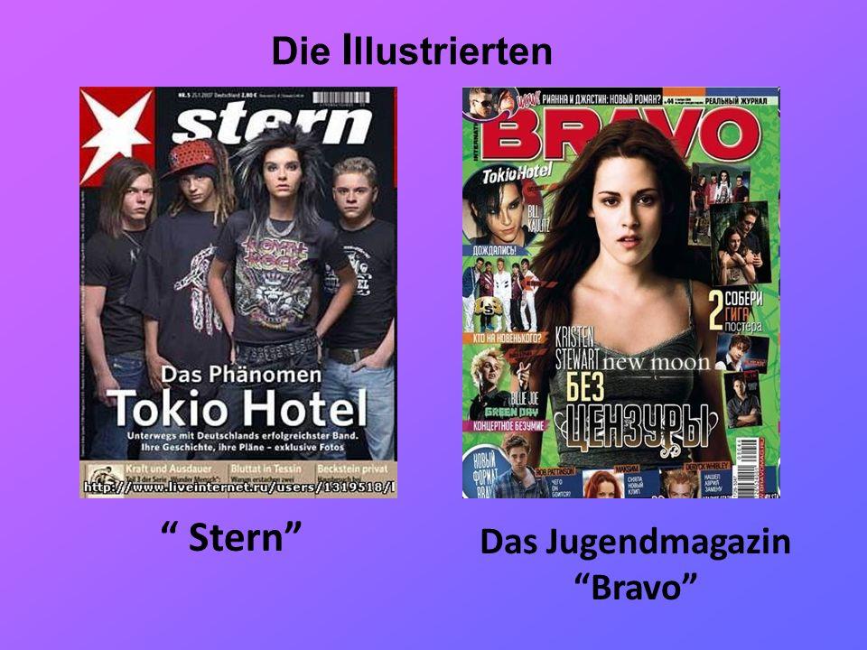 Die I llustrierten Stern Das Jugendmagazin Bravo