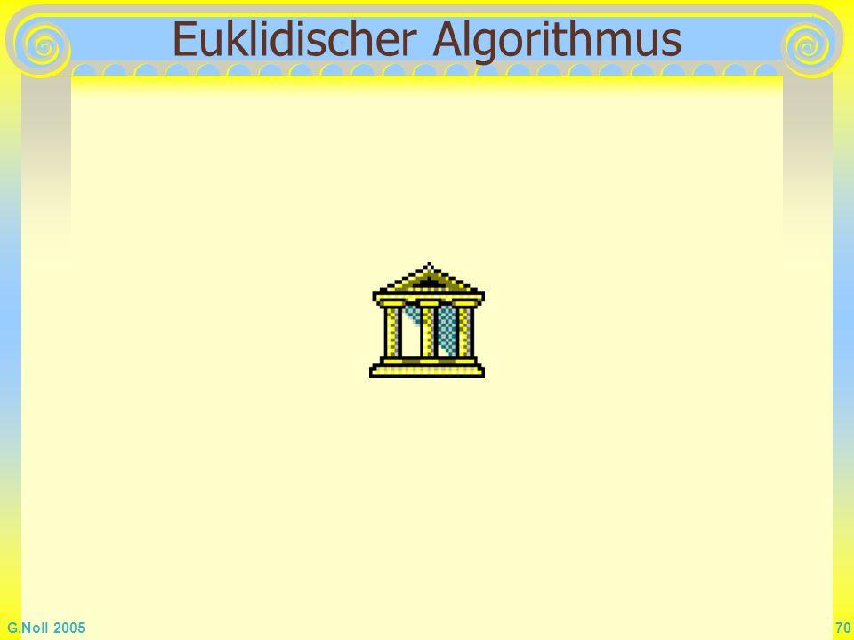 G.Noll 2005 70 Euklidischer Algorithmus