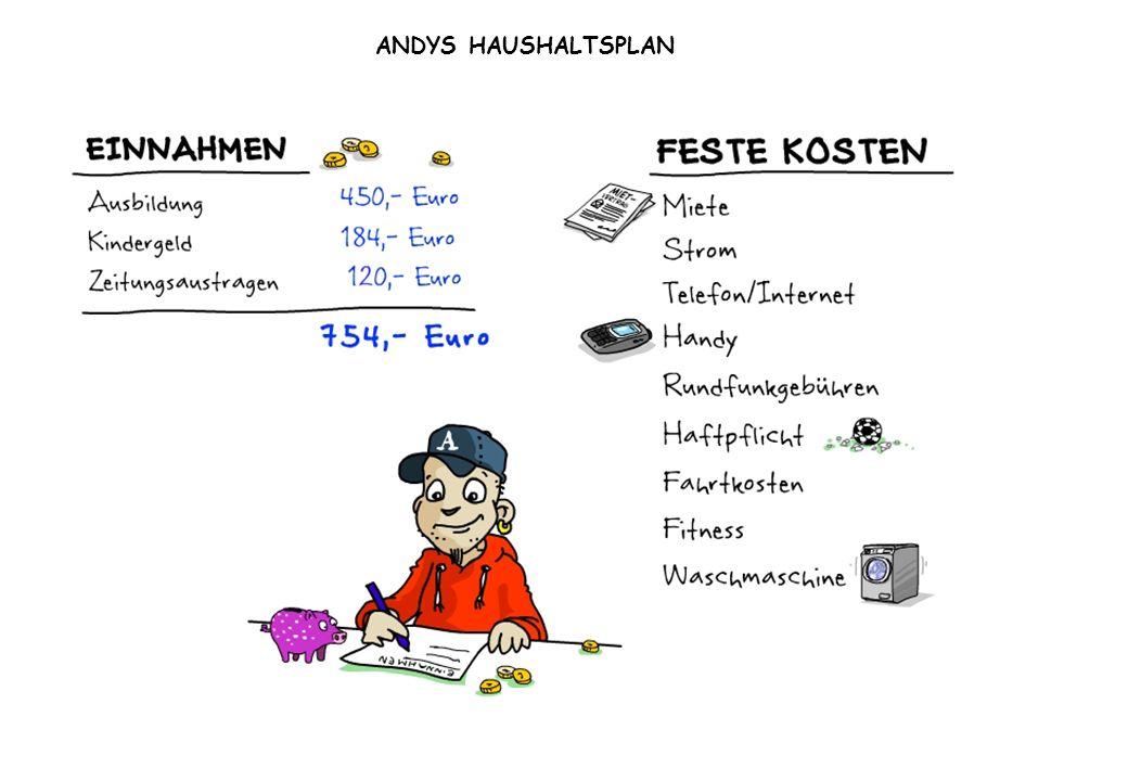 ANDYS HAUSHALTSPLAN
