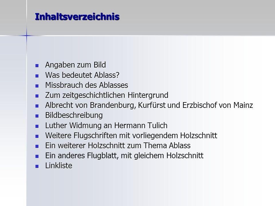 Ein anderes Flugblatt, mit gleichem Holzschnitt Beklagung eines Laien genannt Hans Schwalb über viele Missbräuche christlichen Lebens.