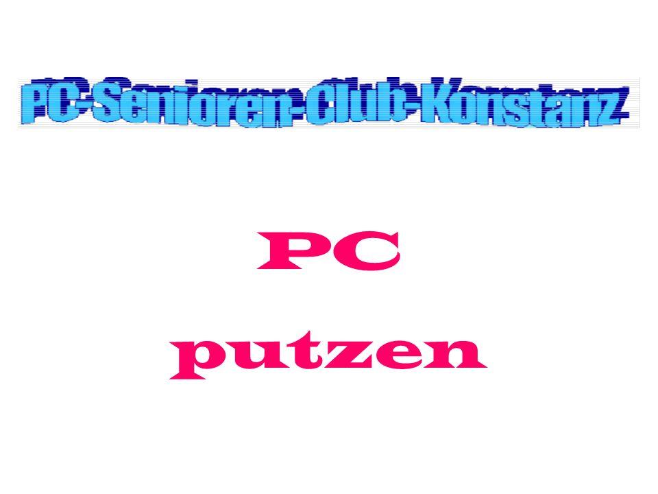 PC putzen