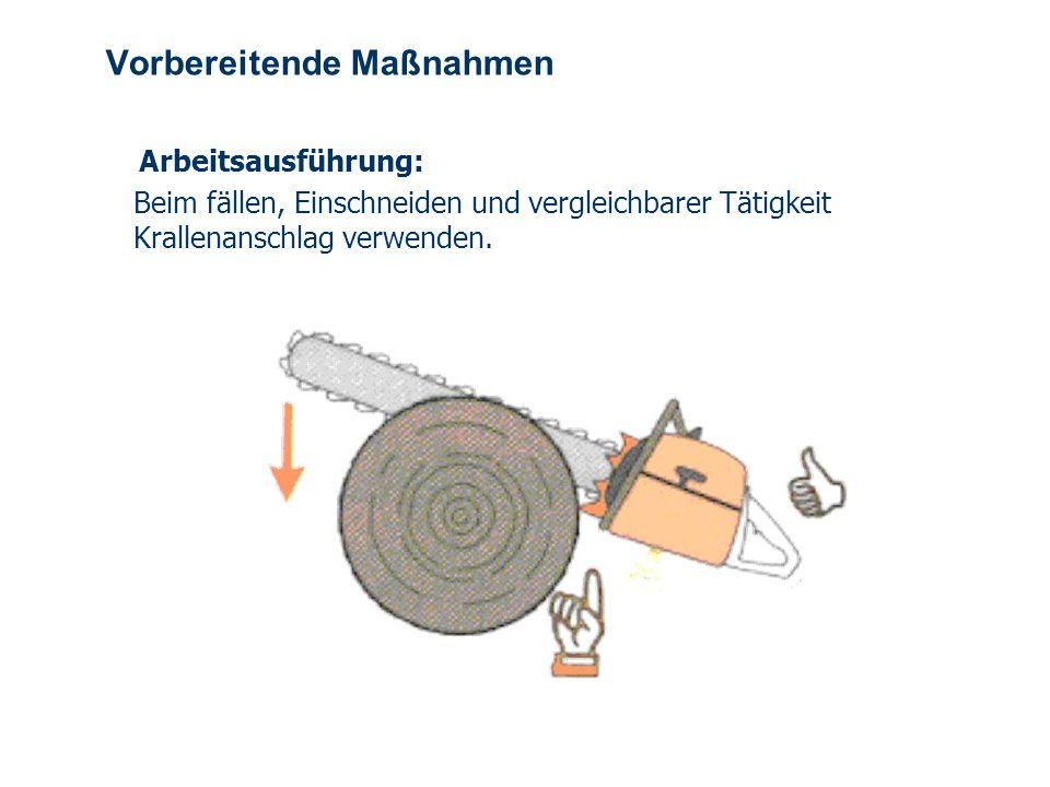 OBM Stefan Schiavulli www.ff-blofeld.de Ausbildung Feuerwehr Blofeld Folie 9 Vorbereitende Maßnahmen Arbeitsausführung: Beim Entasten Maschine möglich