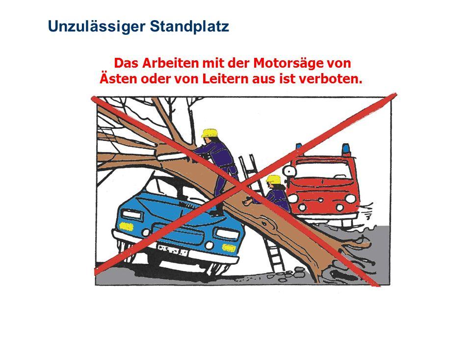 OBM Stefan Schiavulli www.ff-blofeld.de Ausbildung Feuerwehr Blofeld Folie 15 Sicherer Arbeitsplatz Richtige Vorbereitung des Arbeitsplatzes erhöht di