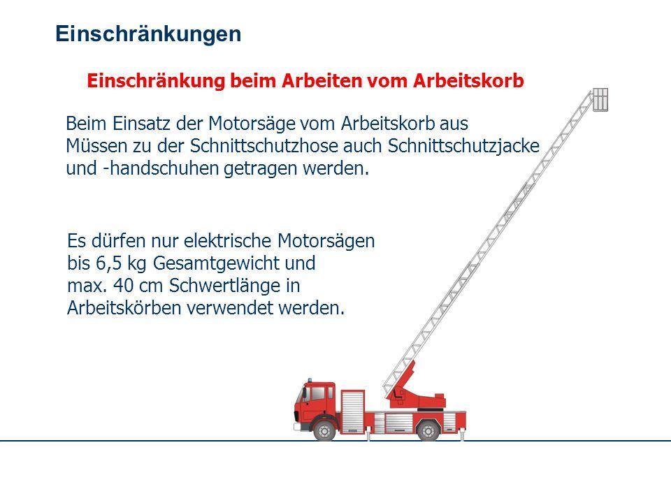 OBM Stefan Schiavulli www.ff-blofeld.de Ausbildung Feuerwehr Blofeld Folie 16 Unzulässiger Standplatz Das Arbeiten mit der Motorsäge von Ästen oder vo