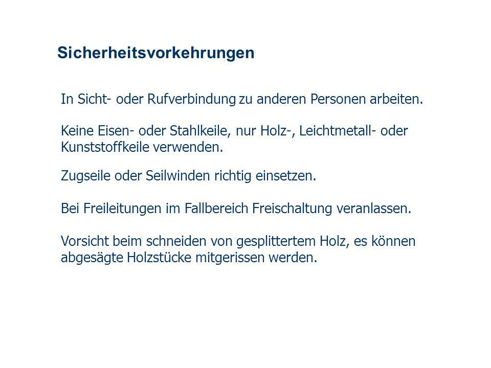 OBM Stefan Schiavulli www.ff-blofeld.de Ausbildung Feuerwehr Blofeld Folie 17 Einschränkungen Einschränkung beim Arbeiten vom Arbeitskorb Beim Einsatz