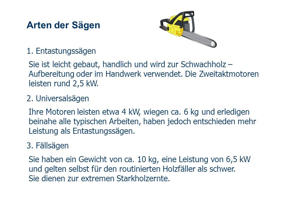 OBM Stefan Schiavulli www.ff-blofeld.de Ausbildung Feuerwehr Blofeld Folie 3 Arten der Sägen 1.