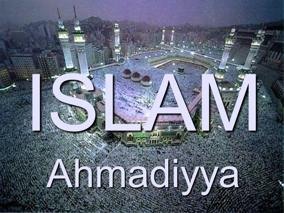 1 von 21 ISLAM Ahmadiyya