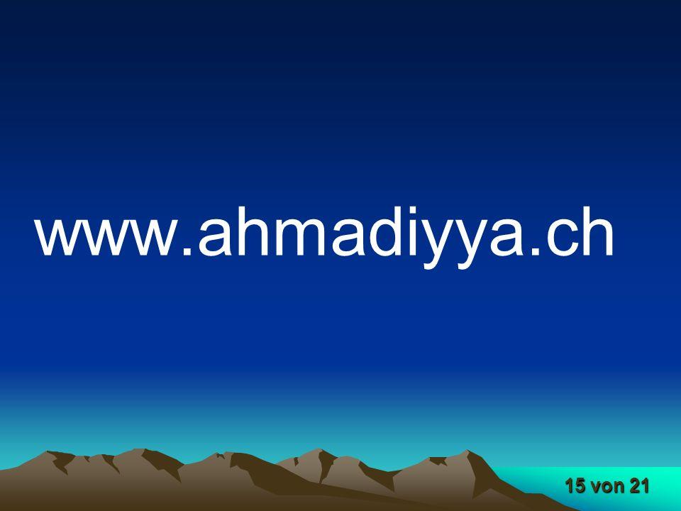 15 von 21 www.ahmadiyya.ch