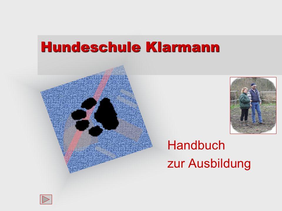 Hundeschule Klarmann Handbuch zur Ausbildung Um Ihr Firmenlogo auf diese Folie einzufügen: Im Menü Einfügen Wählen Sie Grafik Wählen Sie Ihre Logodatei Klicken Sie auf OK Um das Logo anzupassen: Klicken Sie irgendwo innerhalb des Logos.