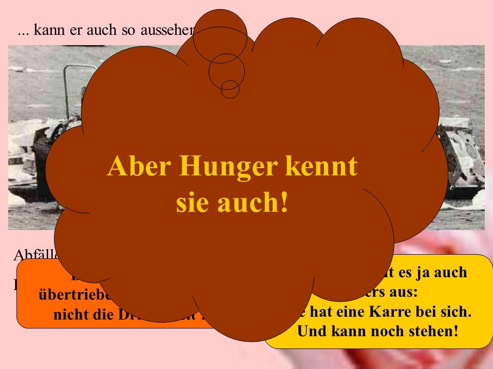 ... kann er auch so aussehen: Abfälle vom Wochenmarkt: Eine Rentnerin sucht in Hamburg St. Pauli nach verwertbaren Lebensmittelresten. Deswegen sieht