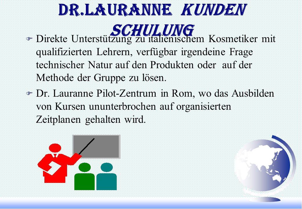 Marketing Herstellung F Eine Erzeugung-Gesellschaft seiend, ist Dr. Lauranne fähig, sich seine Produktion mit großer Elastizität an irgendeiner Änderu