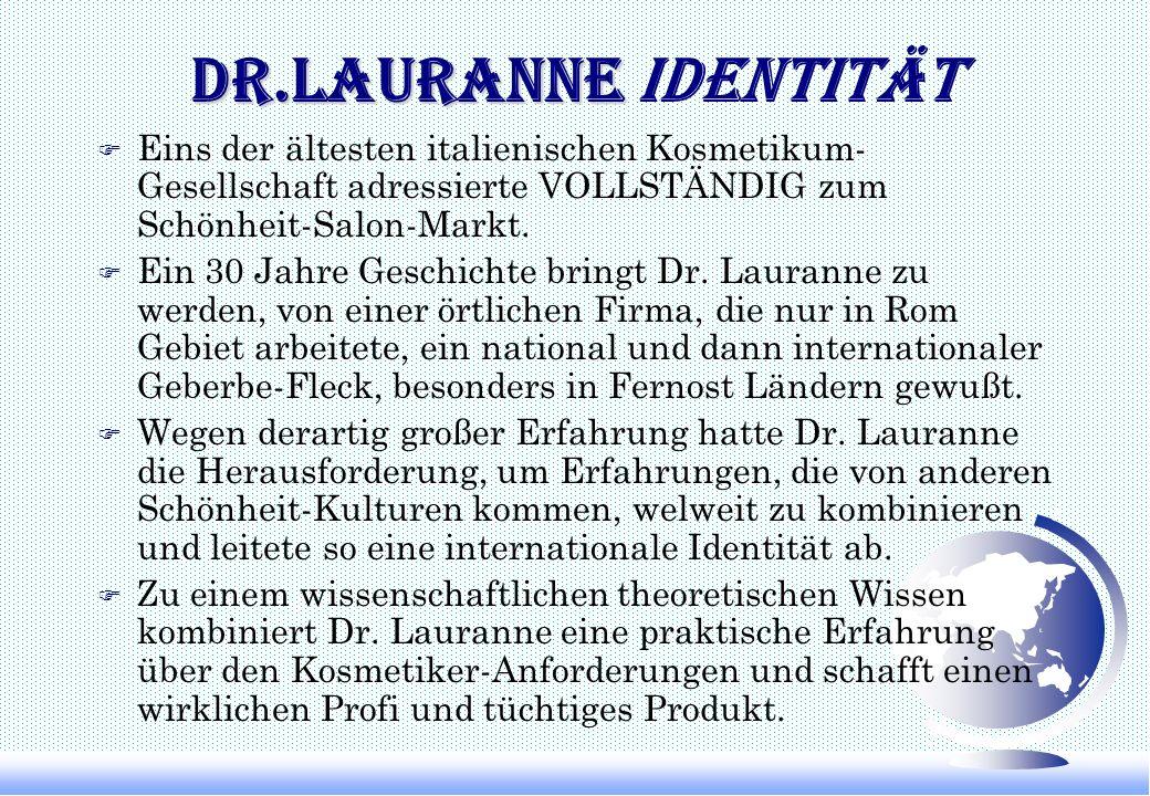 Dr.Lauranne Dr.Lauranne FIRMA profil Gruppe- Entwicklung- Organisation