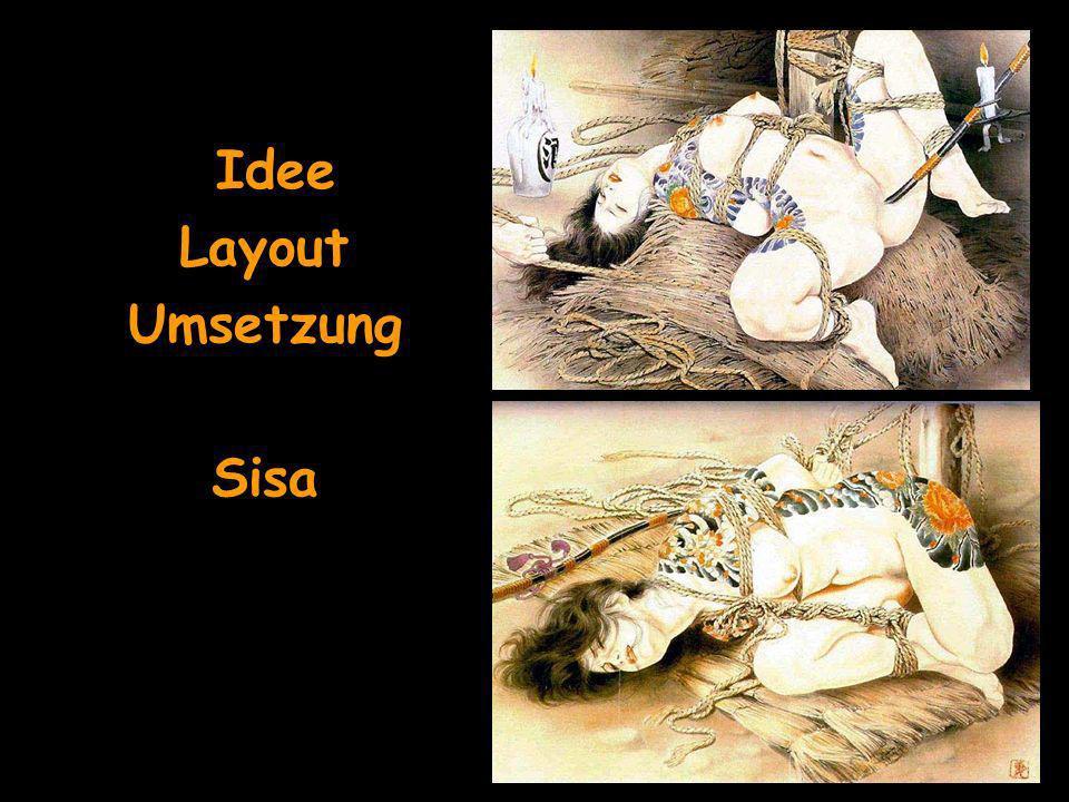 Idee Layout Umsetzung Sisa