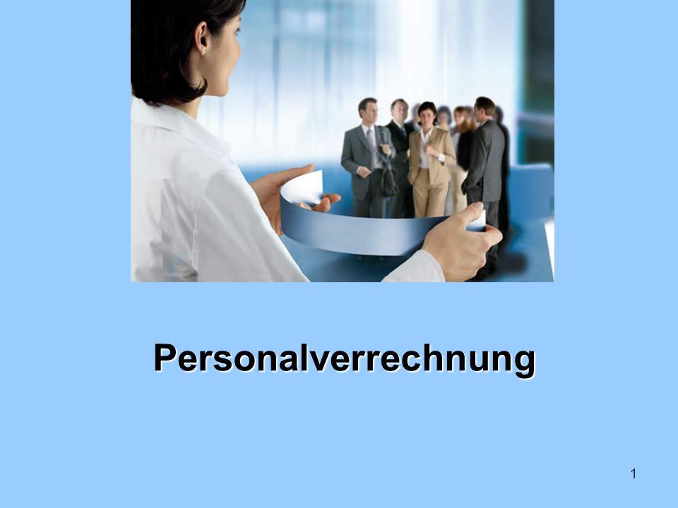 1 Personalverrechnung