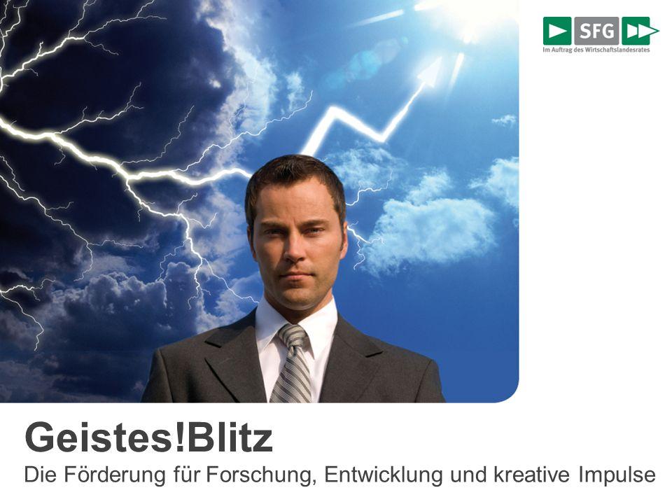 Geistes!Blitz Förderung Forschung, Entwicklung und kreative Impulse Innovations >> Impuls Innovations >> Performance Innovations >> Contact