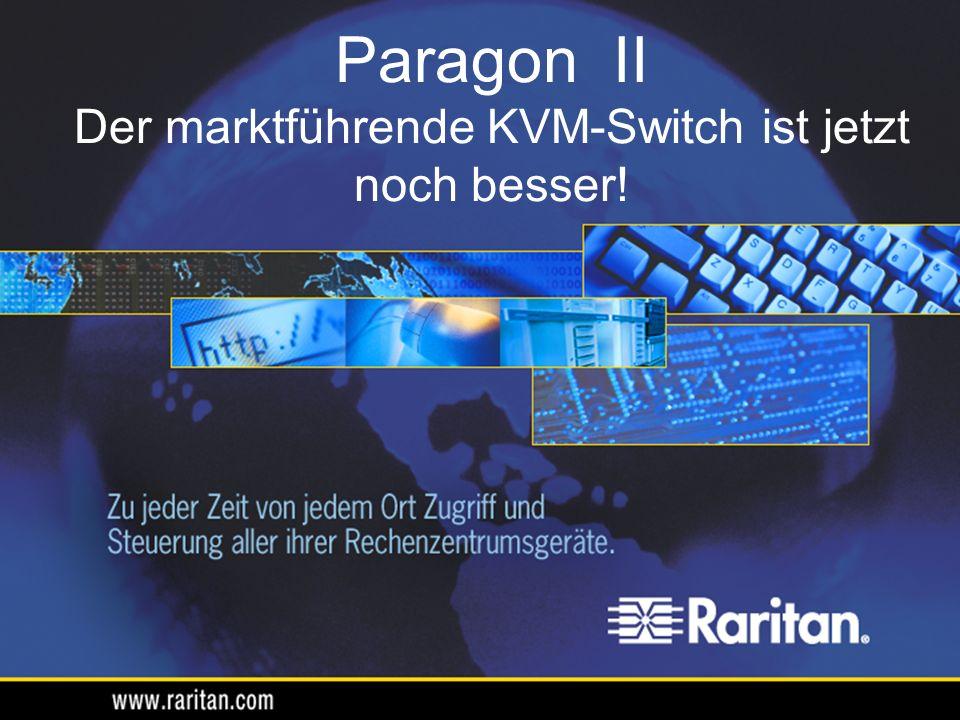 Platz sparende Einheit – leichtes Hinzufügen von bis zu 128 Ports pro Switch Mit 32- und 64-Port-Formfaktor erhältlich 4-Switch-Einheiten (1 P2-UMT832M + 3 P2-UMT832S) 2-Switch-Einheiten (1 P2-UMT1664M + 1 P2-UMT1664S) Maximal 30 cm Abstand zwischen Stacks Paragon II – Stacking-Einheiten Bis zu 128 Channels insgesamt