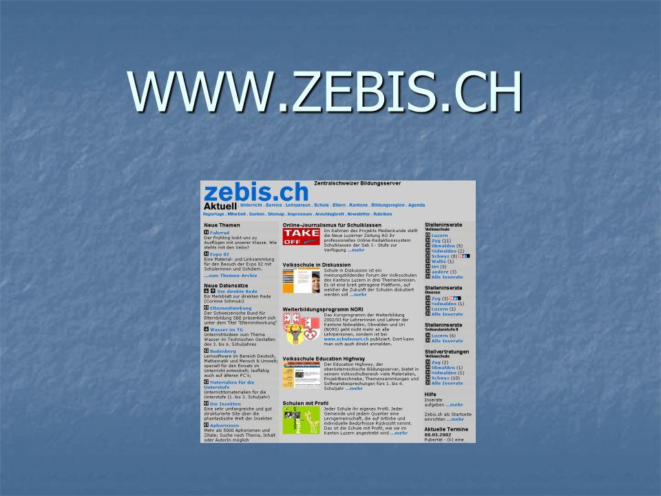 WWW.ZEBIS.CH