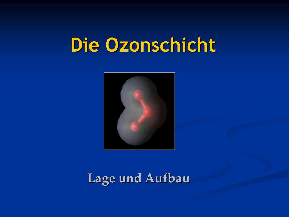 Lage und Aufbau Die Ozonschicht