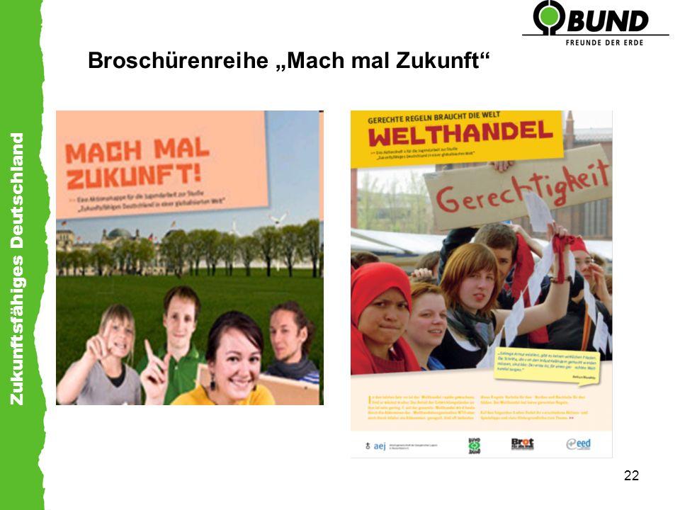 Zukunftsfähiges Deutschland 22 Broschürenreihe Mach mal Zukunft